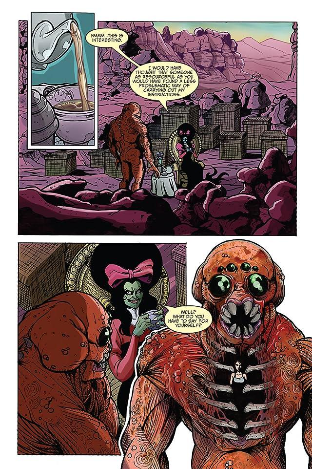Fall of Cthulhu Vol. 4: Godwar #3 (of 4)