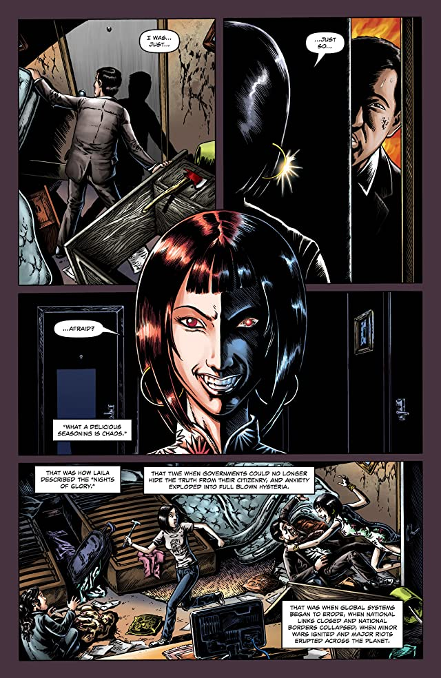 click for super-sized previews of Extinction Parade #4