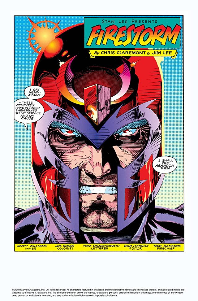 click for super-sized previews of X-Men (1991-2001) #2
