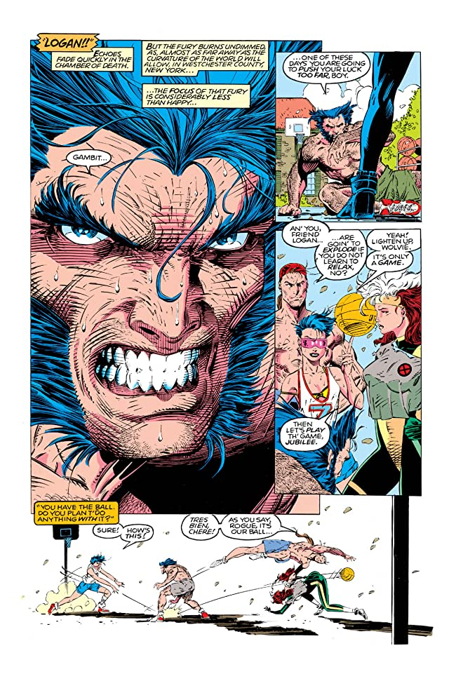 click for super-sized previews of X-Men (1991-2001) #4