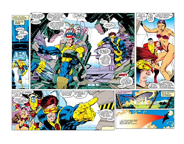 click for super-sized previews of X-Men (1991-2001) #5