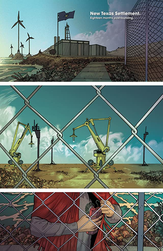 click for super-sized previews of Great Pacific Vol. 2: Nation Building