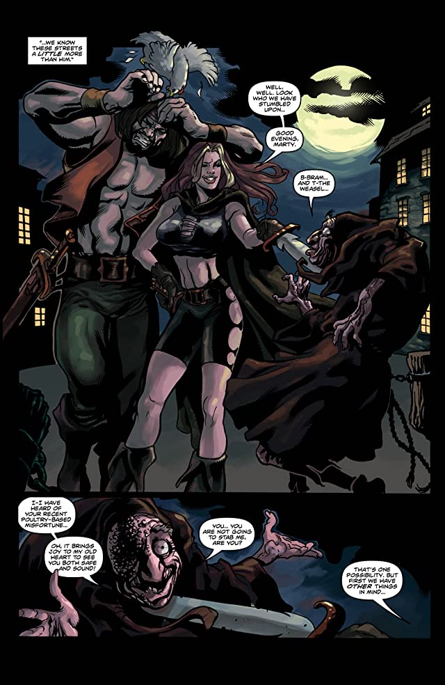 click for super-sized previews of Rogues! #2