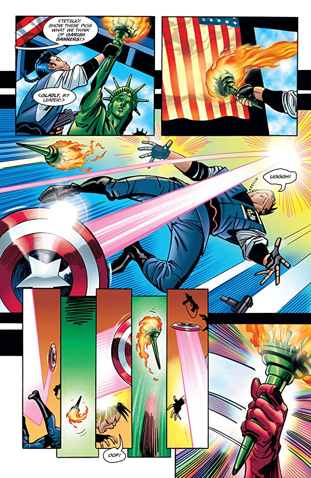 click for super-sized previews of Captain America (1998-2002) #1