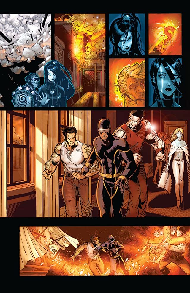 click for super-sized previews of X-Men (2004-2007) #190