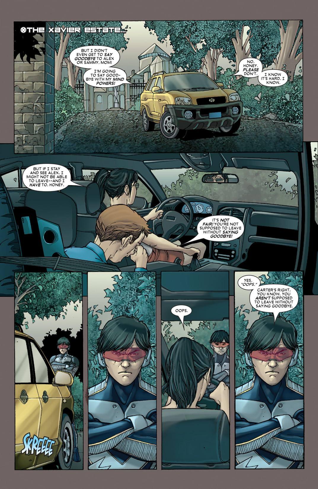 X-Men (2004-2007) #163
