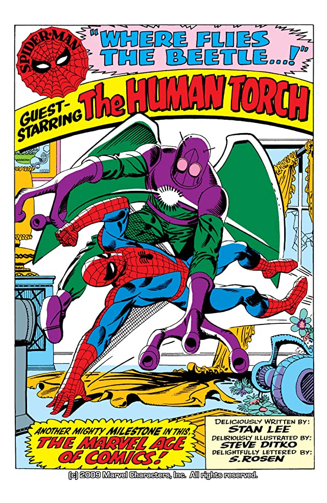 click for super-sized previews of Amazing Spider-Man (1963-1998) #21