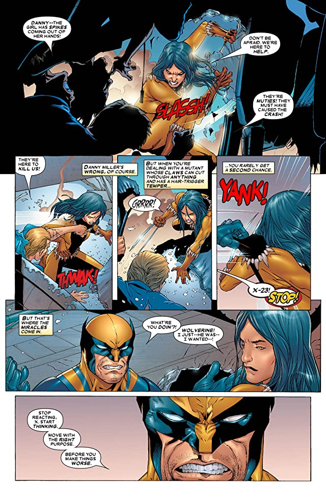 click for super-sized previews of X-Men (2004-2007) #165
