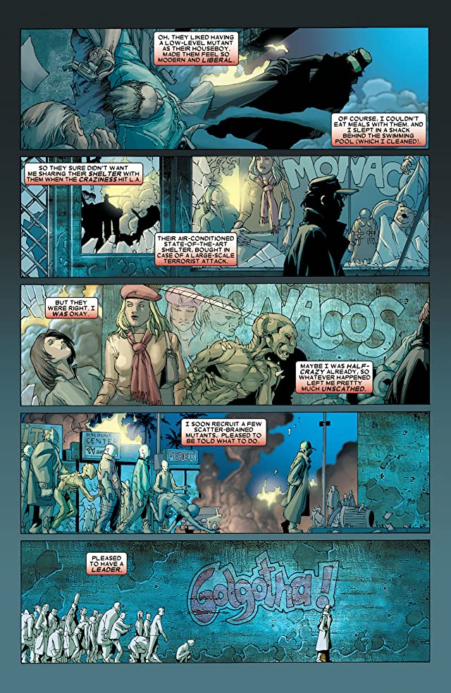 click for super-sized previews of X-Men (2004-2007) #167