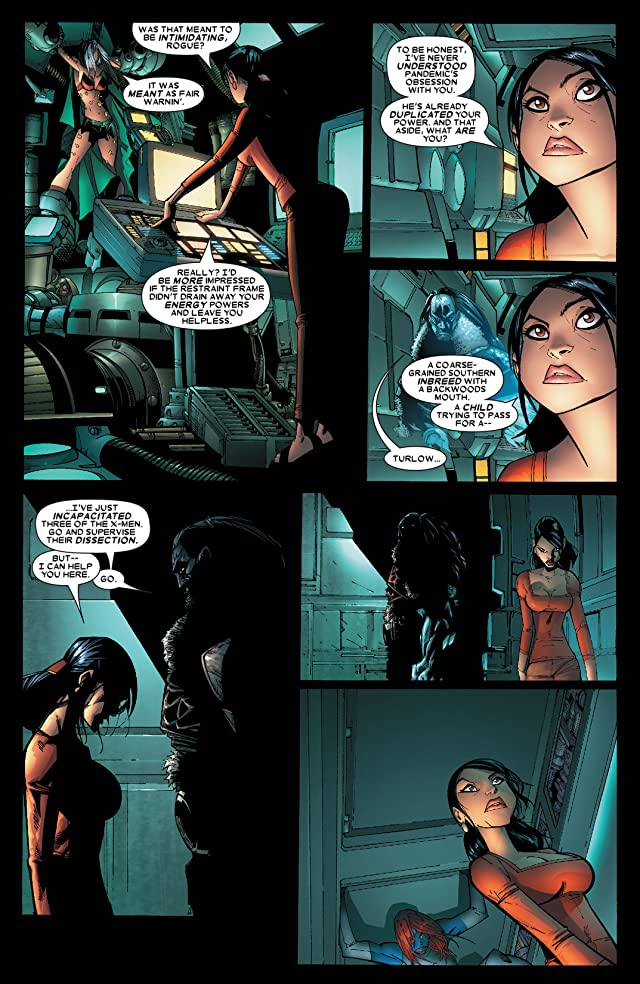 click for super-sized previews of X-Men (2004-2007) #196