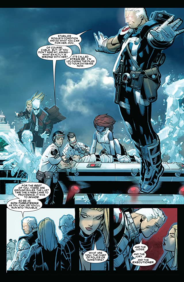 click for super-sized previews of X-Men (2004-2007) #197