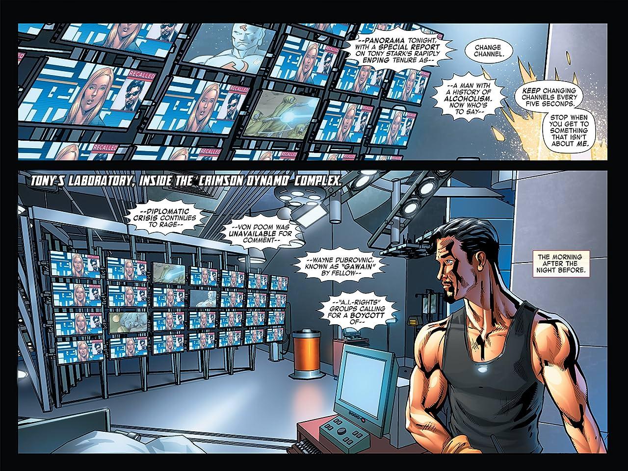 Iron Man: Fatal Frontier Infinite Comic #11