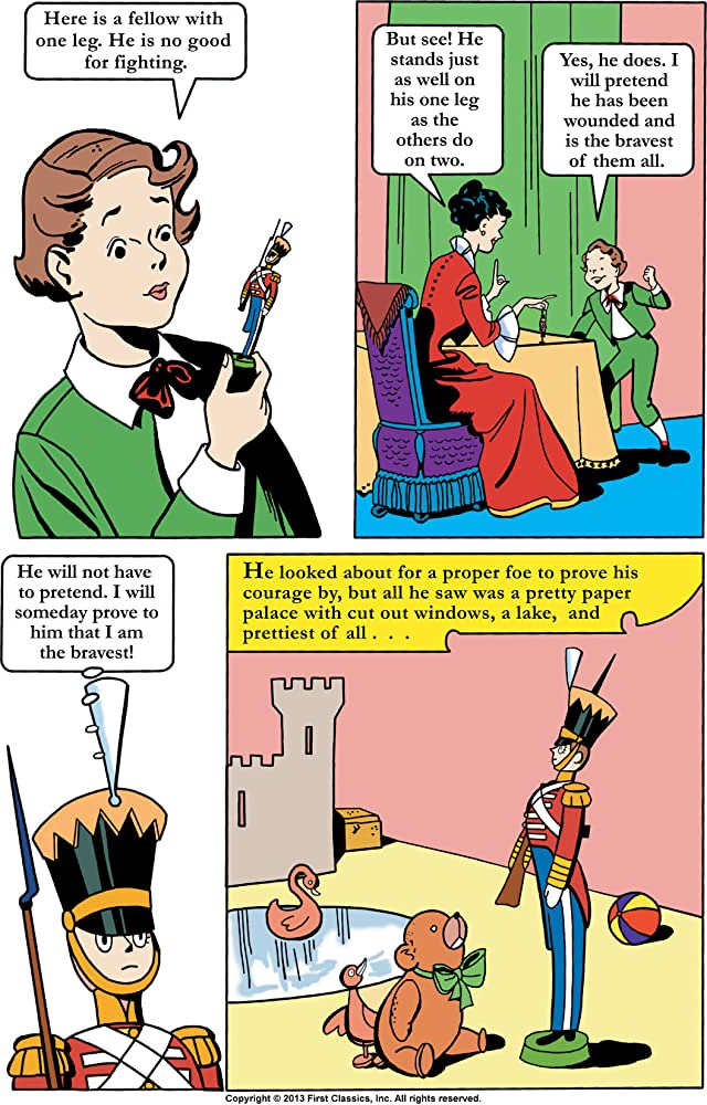 click for super-sized previews of Classics Illustrated Junior #514: The Steadfast Tin Soldier