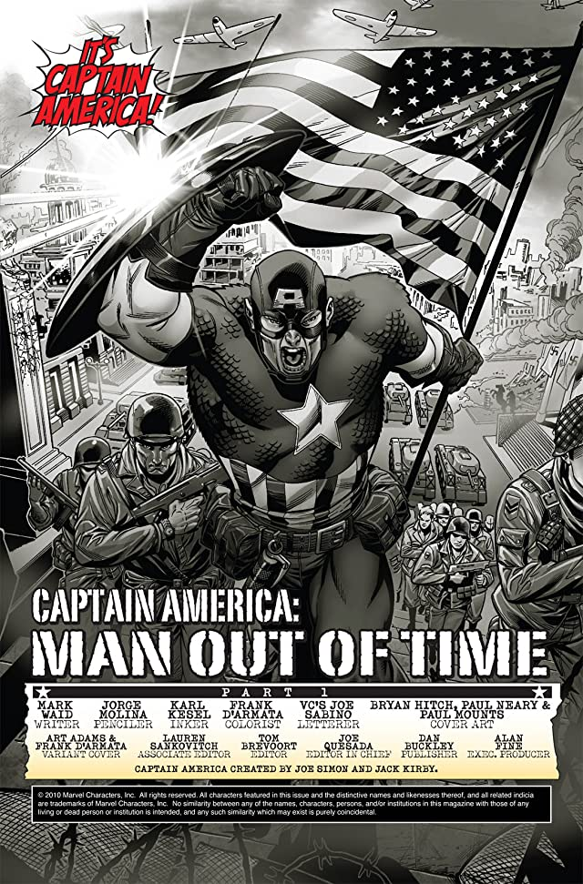 Captain America: Man Out of Time #1 (of 5)