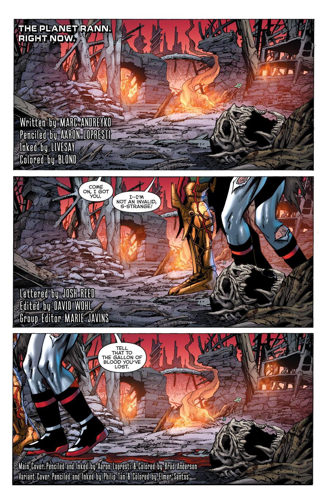 Death of Hawkman (2016-) #1