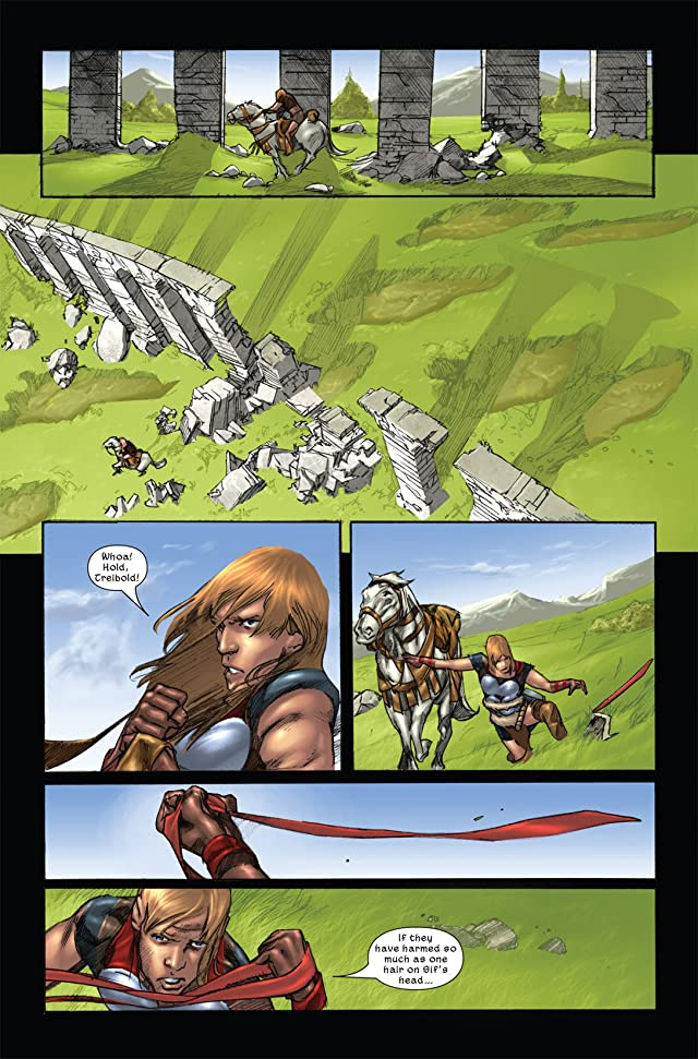 click for super-sized previews of Thor: Son of Asgard #11