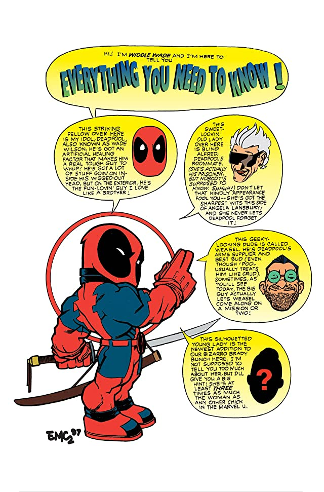 click for super-sized previews of Deadpool (1997-2002) #6