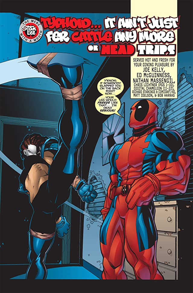 click for super-sized previews of Deadpool (1997-2002) #7