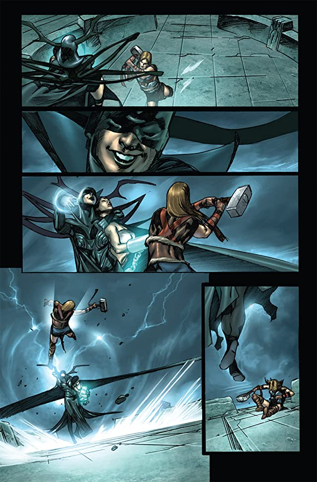 click for super-sized previews of Thor: Son of Asgard #12