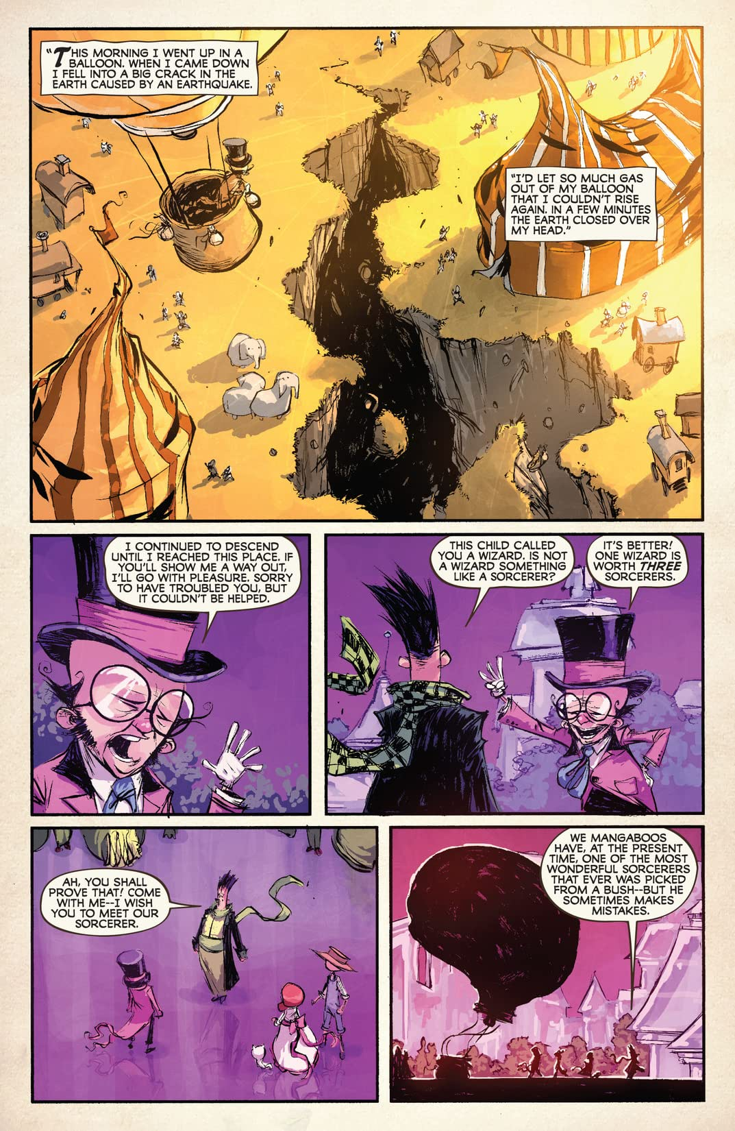 Dorothy and the Wizard In Oz #2 (of 8)