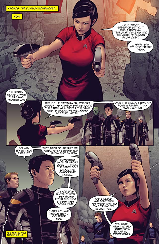 click for super-sized previews of Star Trek (2011-) #28