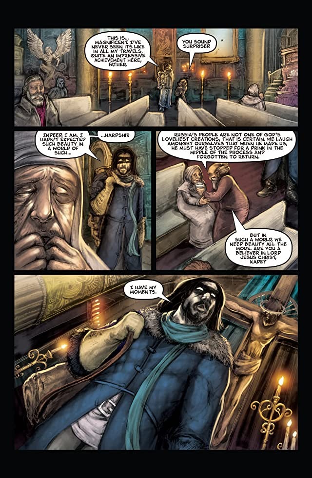 click for super-sized previews of Kade: Red Sun #2 (of 4)