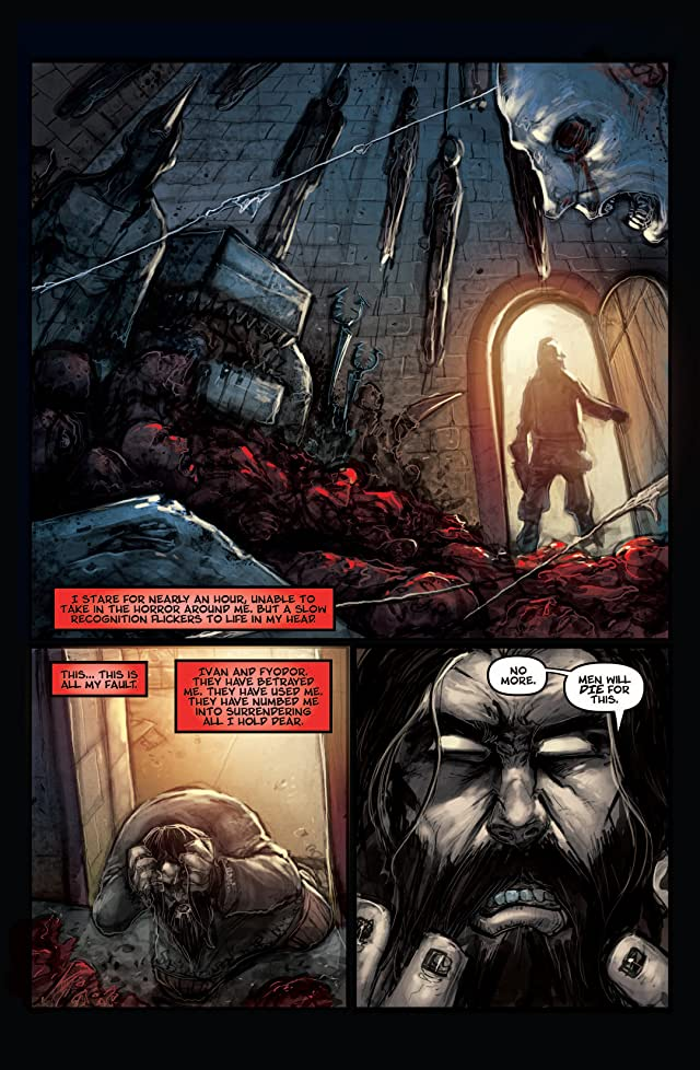 click for super-sized previews of Kade: Red Sun #4 (of 4)