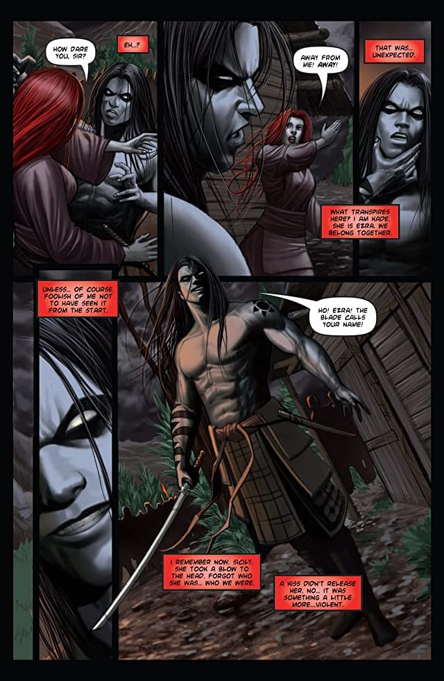 click for super-sized previews of Kade: Rising Sun #2 (of 4)