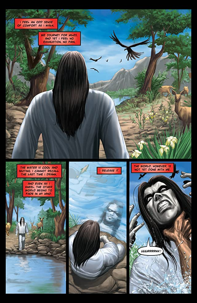 click for super-sized previews of Kade: Rising Sun #4 (of 4)