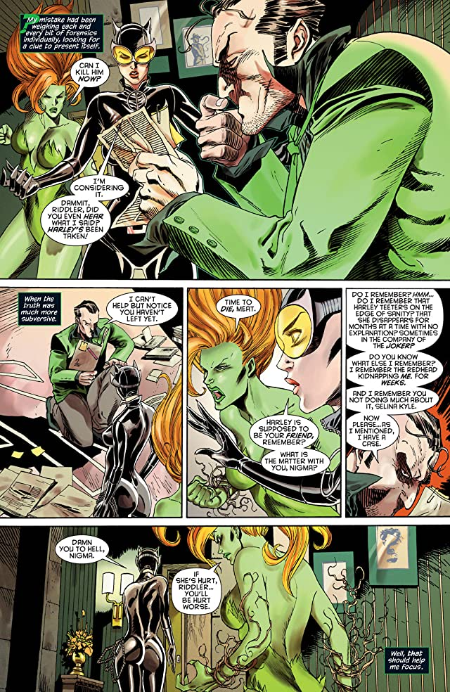 click for super-sized previews of Gotham City Sirens #3