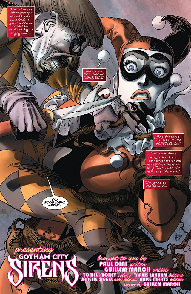 click for super-sized previews of Gotham City Sirens #6