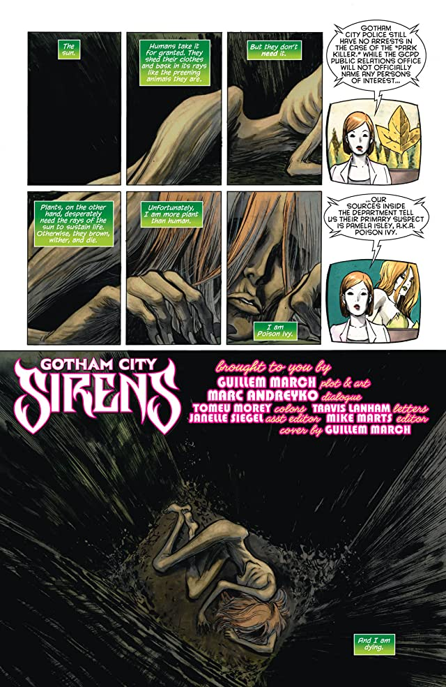 click for super-sized previews of Gotham City Sirens #8