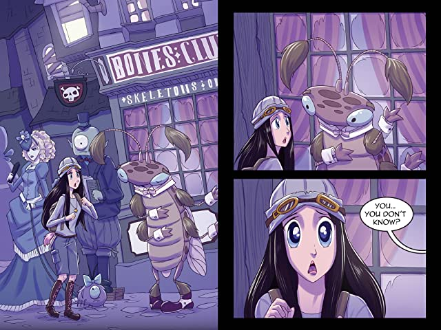 click for super-sized previews of Vamplets: The Nightmare Nursery #3