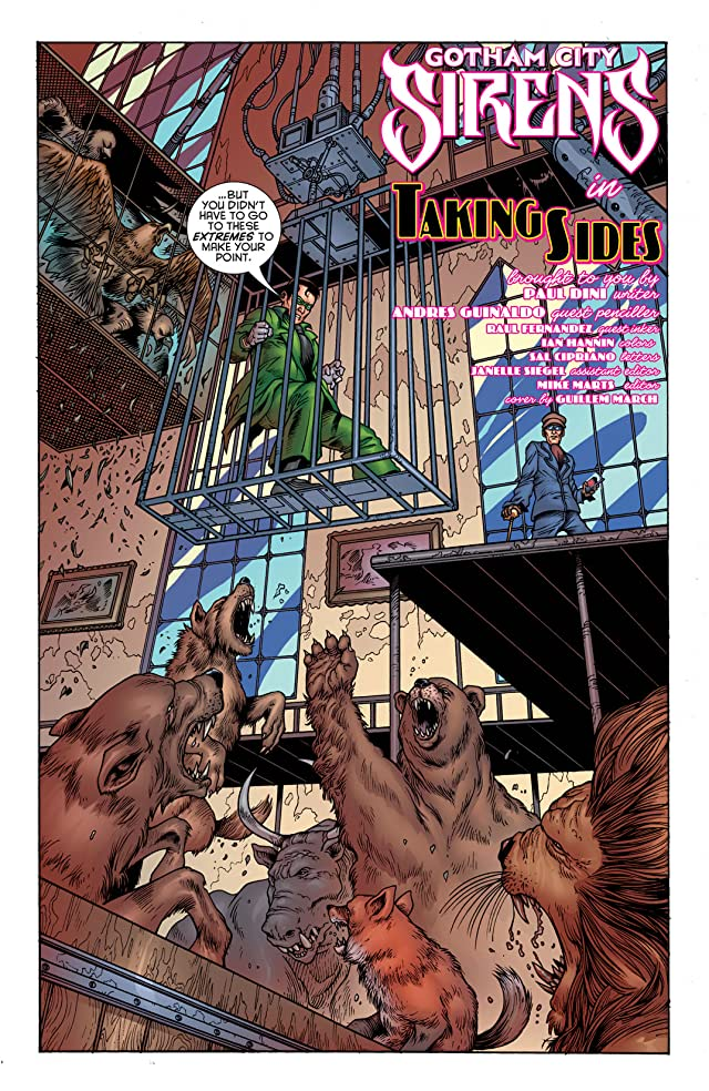 click for super-sized previews of Gotham City Sirens #10