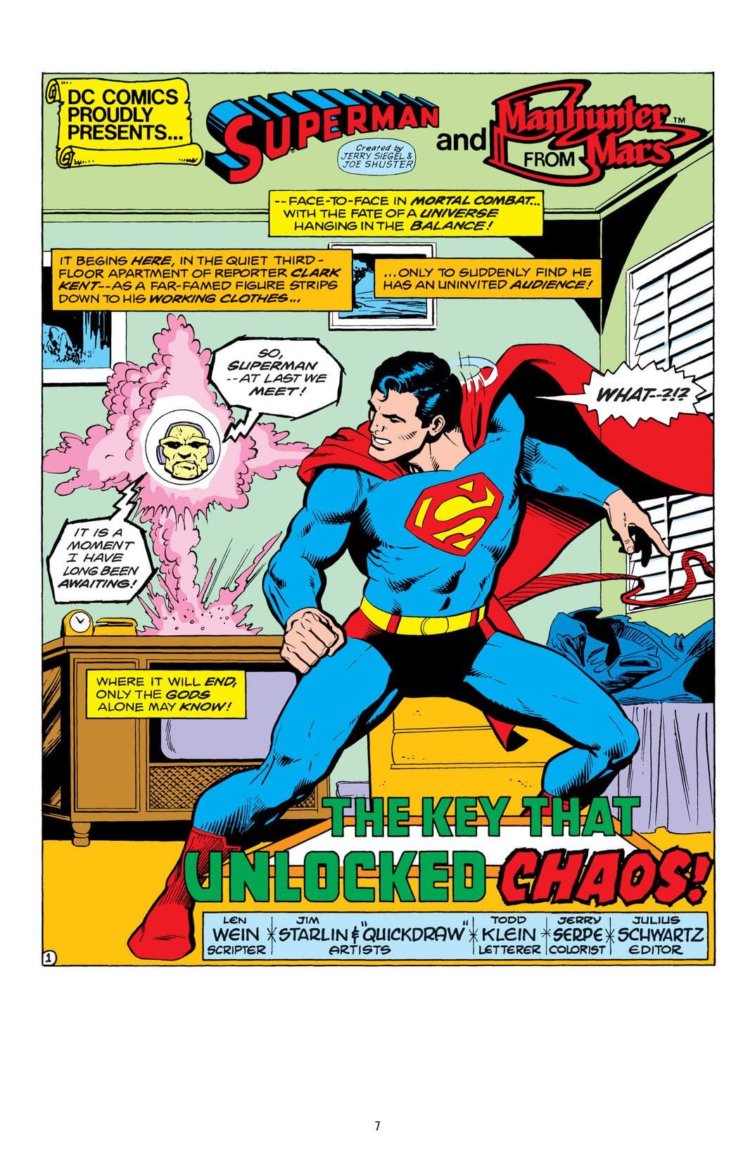 Superman vs. Mongul
