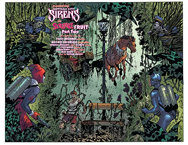 click for super-sized previews of Gotham City Sirens #15
