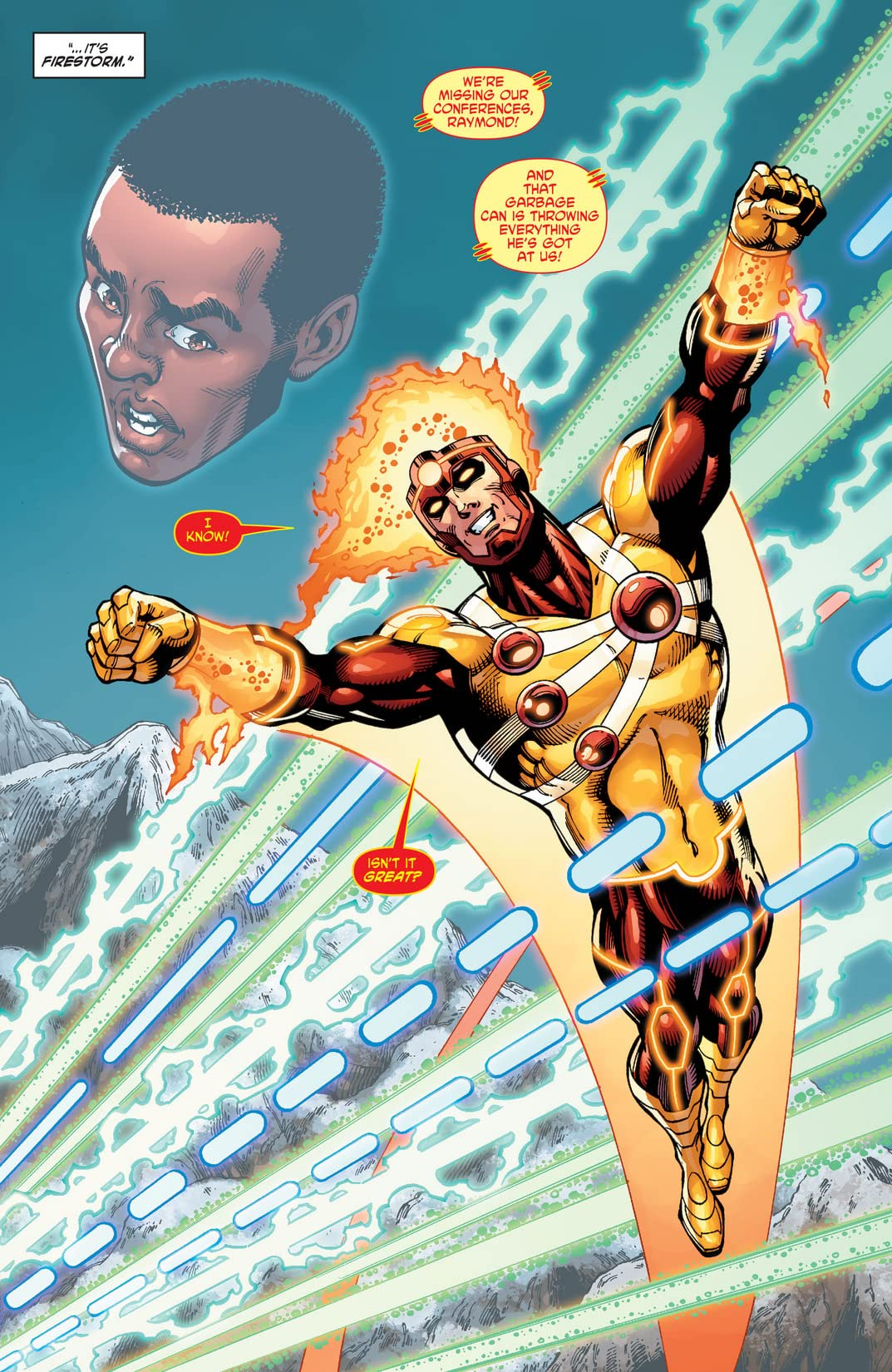 The Fury of Firestorm: The Nuclear Men (2011-2013) Vol. 3: Takeover