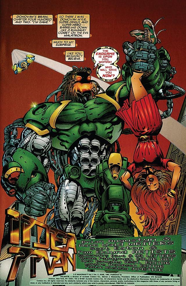 X-O Manowar (1996-1998) #5