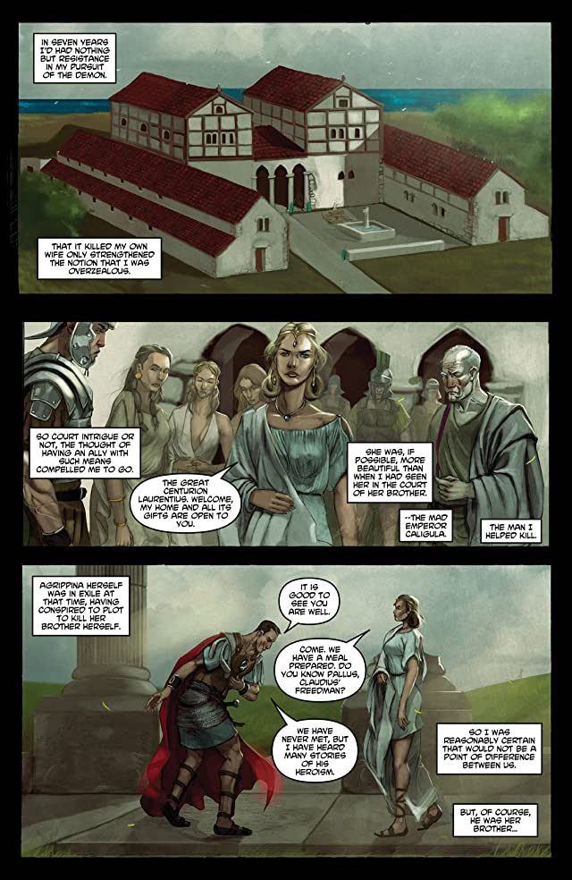 Caligula: Heart of Rome #1