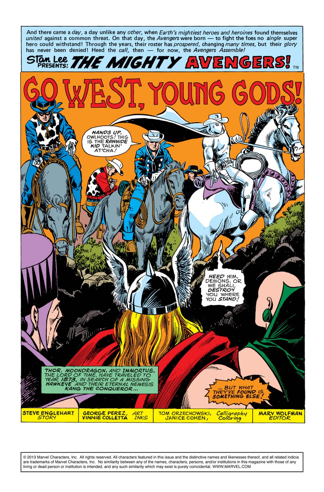Avengers (1963-1996) #142