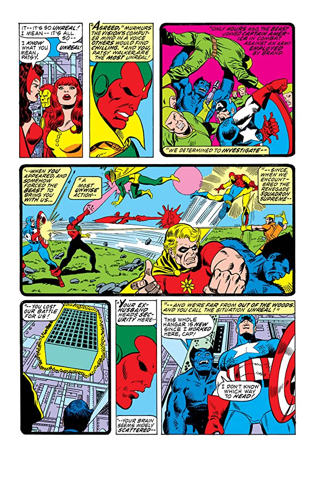 click for super-sized previews of Avengers (1963-1996) #144
