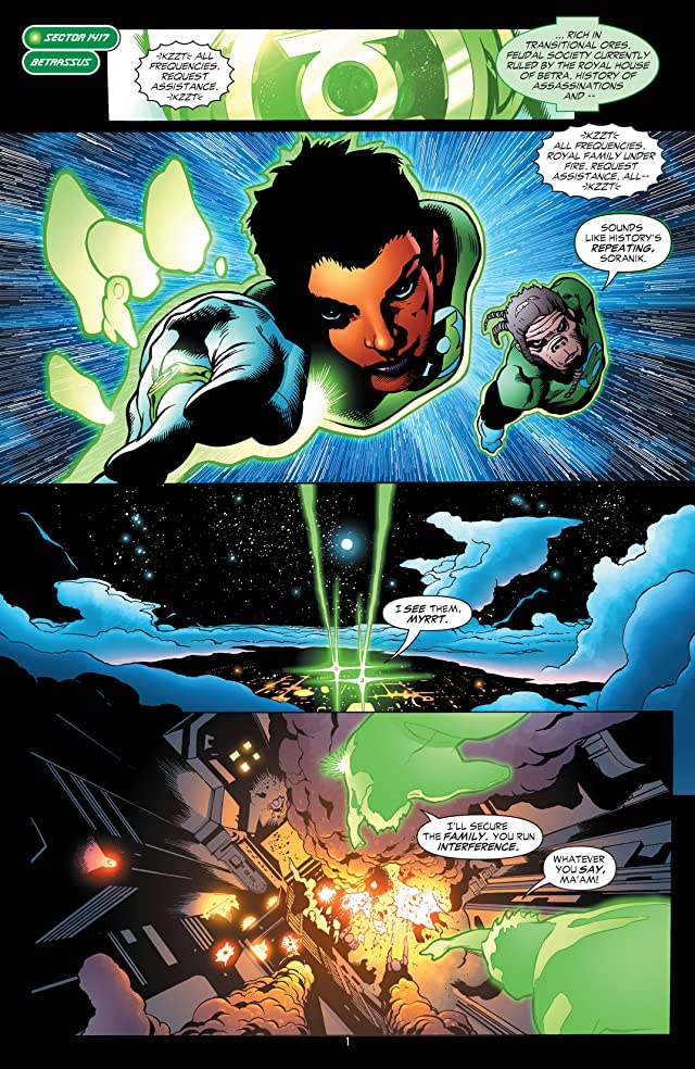 click for super-sized previews of Green Lantern Corps (2006-2011): To Be A Lantern