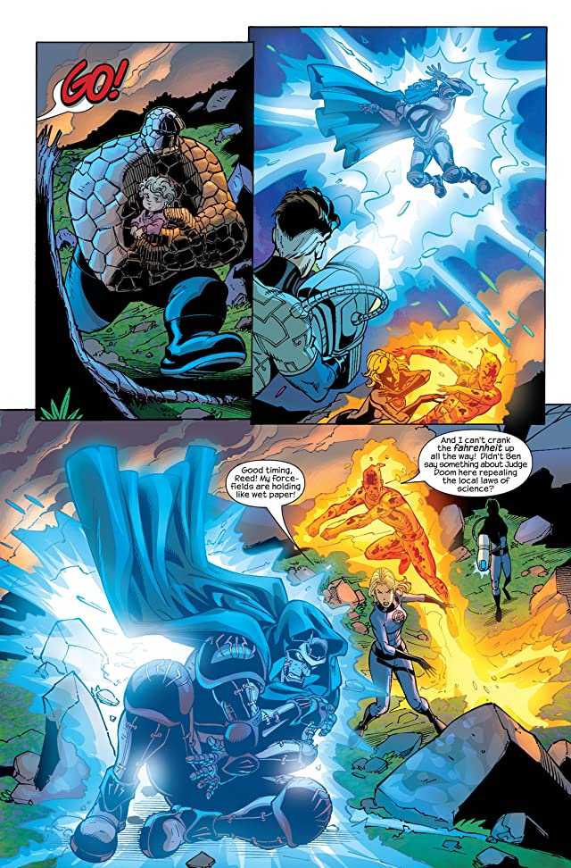 click for super-sized previews of Fantastic Four (1998-2012) #70