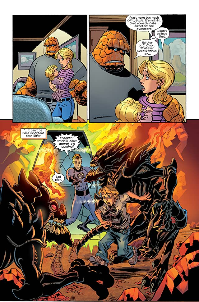click for super-sized previews of Fantastic Four (1998-2012) #69