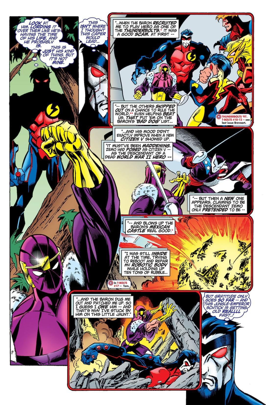Captain America & Citizen V Annual 1998