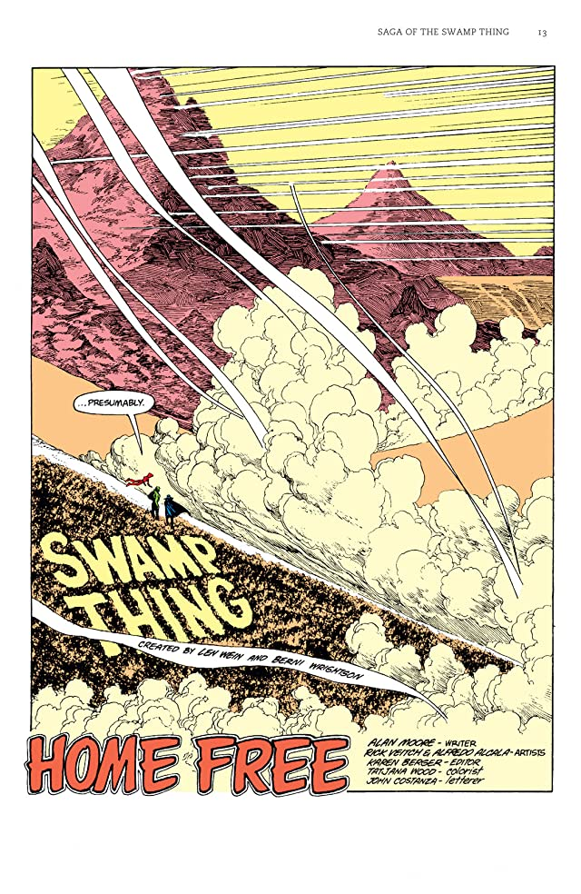 click for super-sized previews of Saga of the Swamp Thing: Book Five