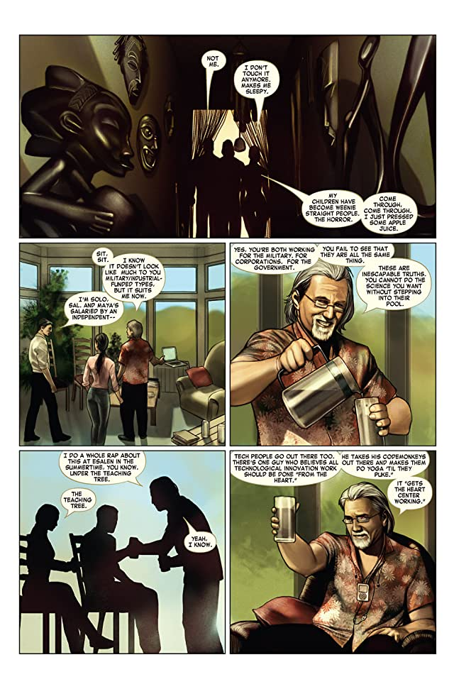 click for super-sized previews of Iron Man (2004-2007) #2