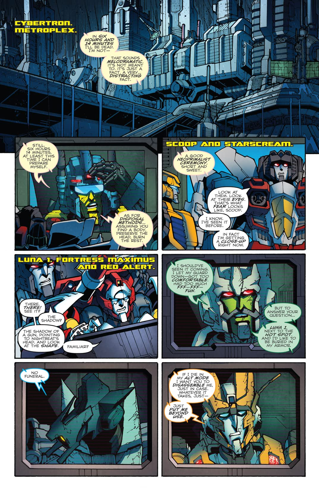 Transformers: More Than Meets the Eye (2011-) Vol. 10