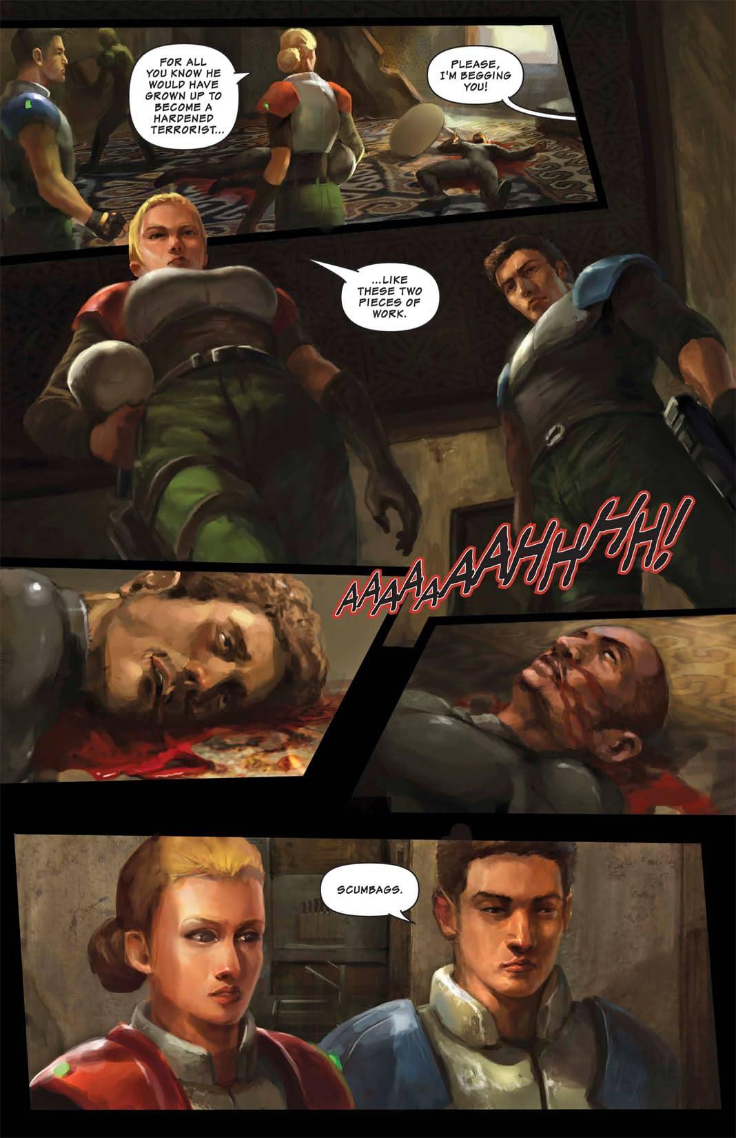 Shrapnel: Hubris #3 (of 3)