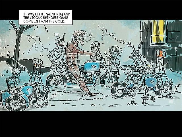 Motorcycle Samurai: A Very White Bolt Christmas
